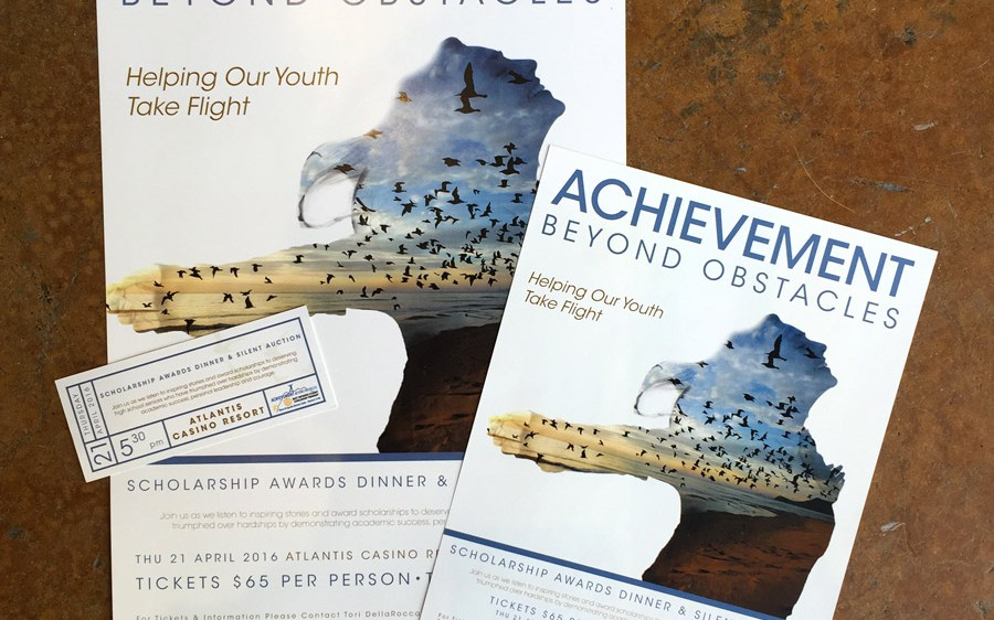 Reno Rotary Club's Achievement Beyond Obstacles Event Collateral
